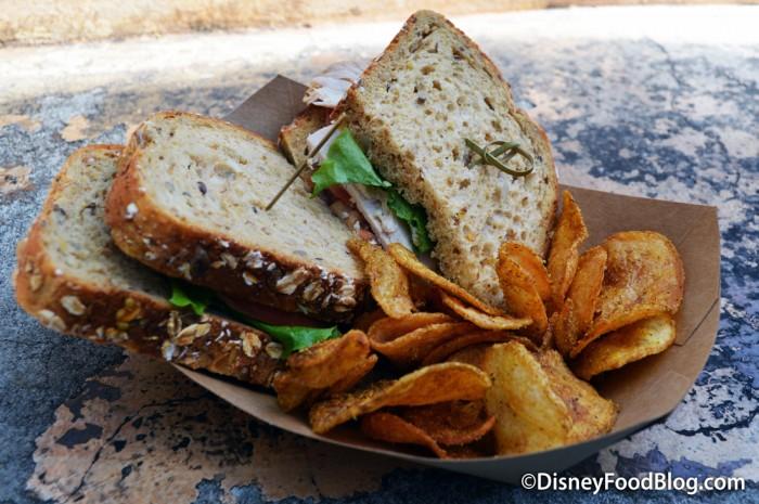 Herb-roasted Turkey Sandwich