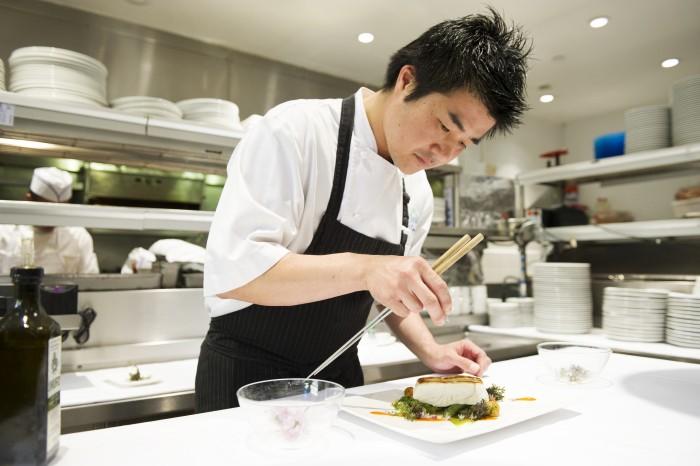 Yuhi Fujinag, Morimoto Asia's New Executive Chef (Photo ©Morimoto Asia)