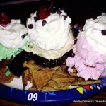 Get 'em Before They're Gone! Ice Cream Nachos at Disneyland's Golden Horseshoe