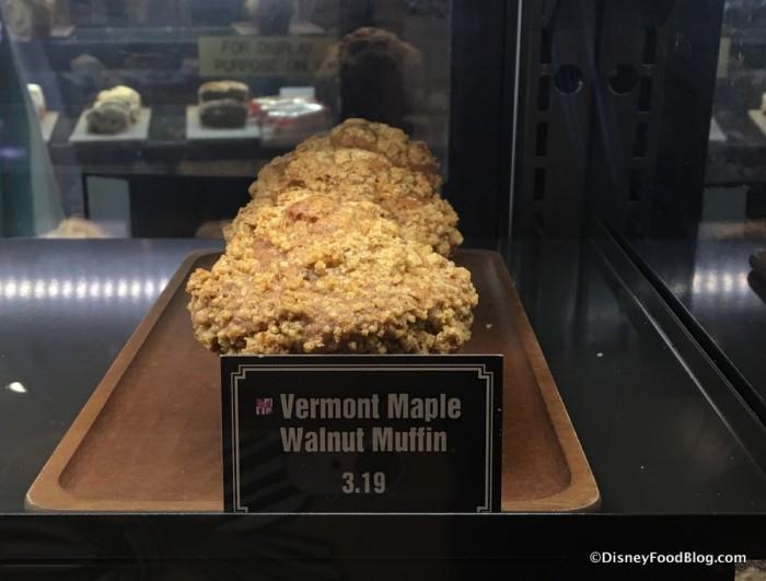 Vermont Maple Walnut Muffin