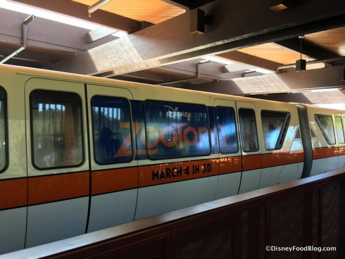 Zootopia Monorail