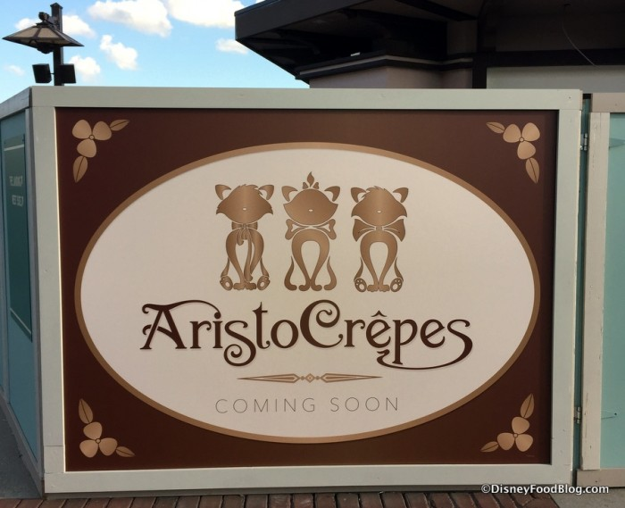 AristoCrepes opening May 22nd