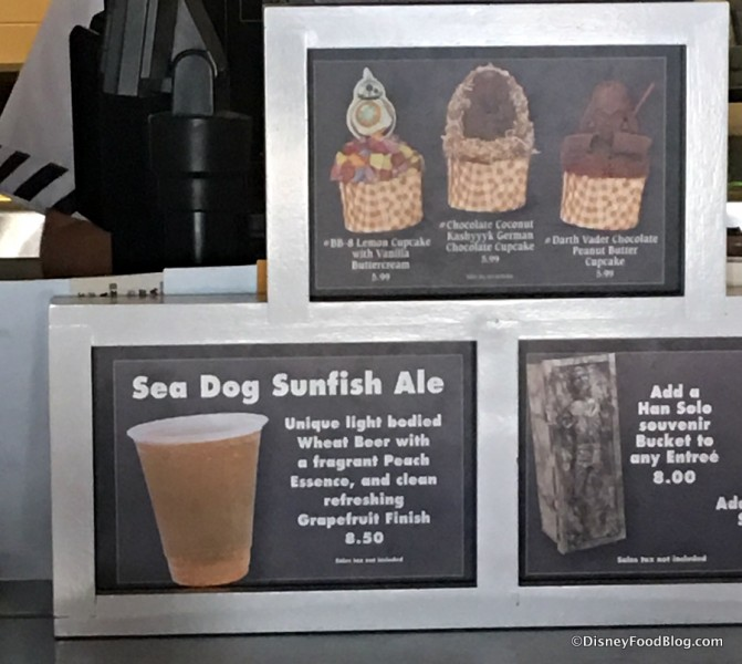 Sea Dog Sunfish Ale at Backlot Express
