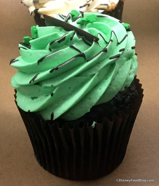 Buttercream Mint Cupcake