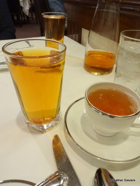 Tangerine Iced Tea & Eros Hot Tea