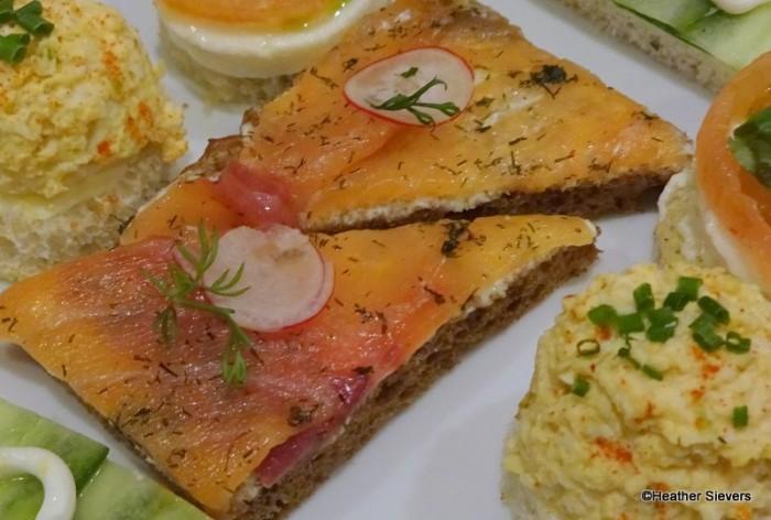 Steakhouse 55 Tea Salmon Sandwich