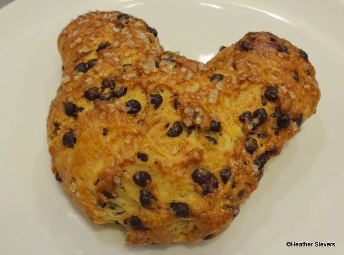 Mickey Chocolate Chip Scone from the Kids Tea Party