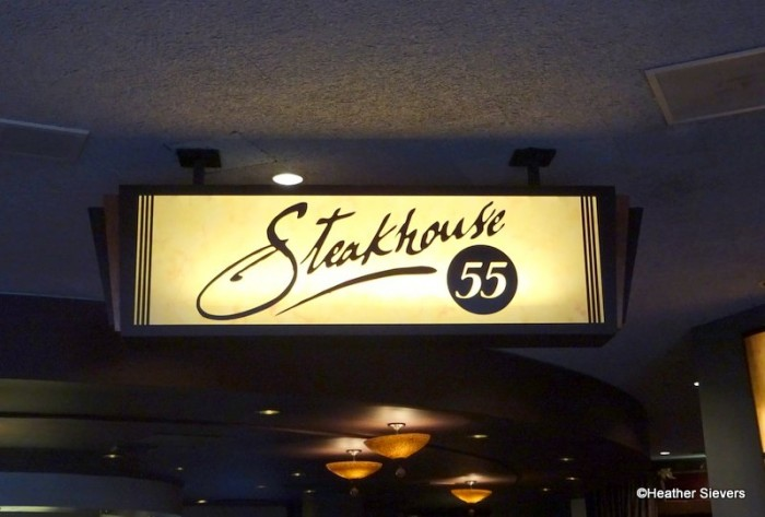 Steakhouse 55 Located Inside the Disneyland Hotel