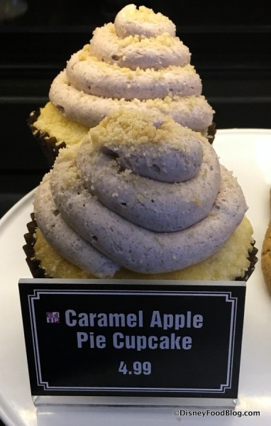 Caramel Apple Pie Cupcake
