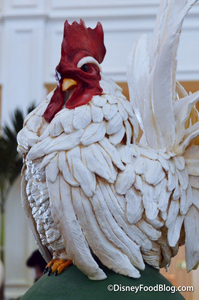 Victorian Rooster Egg