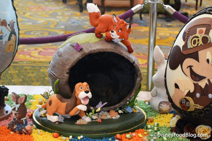 Fox and the Hound Egg