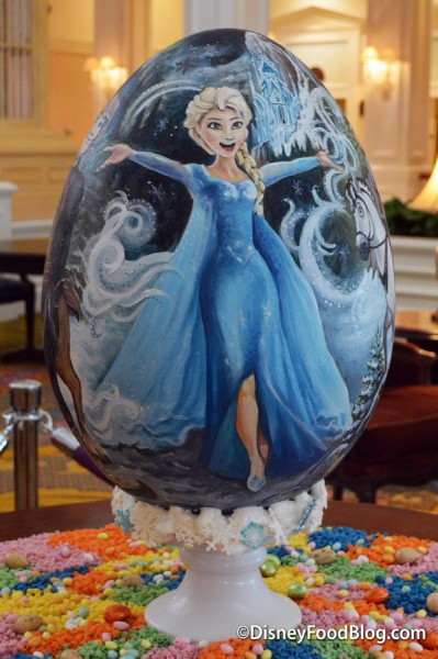 Find the Frozen Easter Egg next to the Garden View Lounge this year