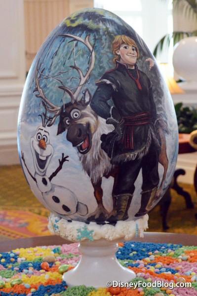 Frozen Easter Egg