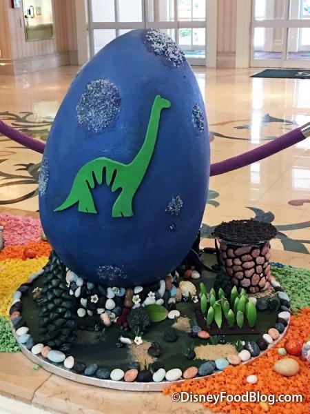 Good Dinosaur Easter Egg