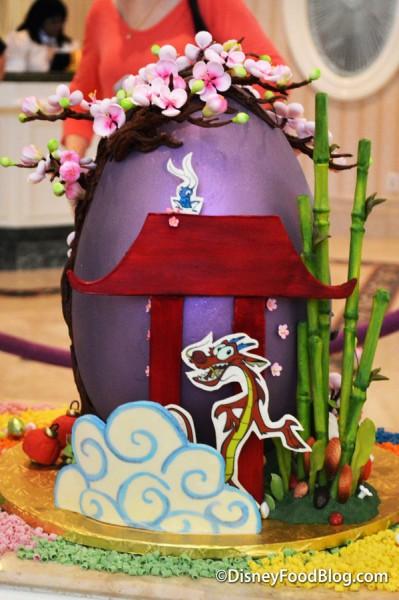 Back of Mulan Egg