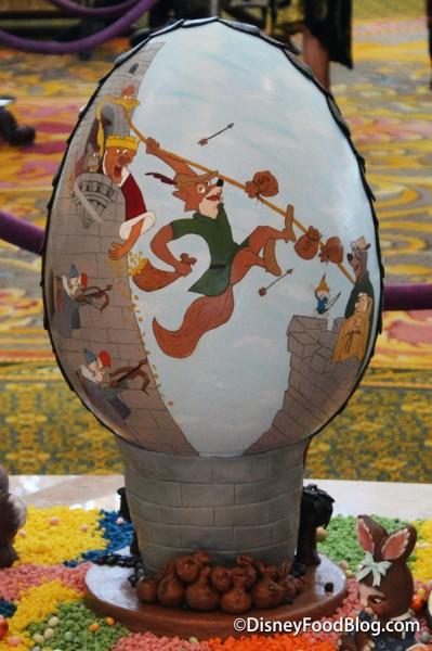 Front of Robin Hood Easter Egg