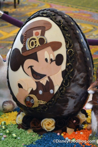 Steampunk Mickey and Minnie Egg