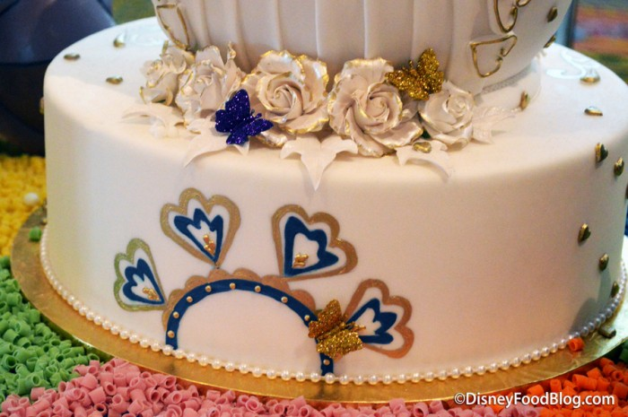 Grand Floridian Wedding Easter Egg detail
