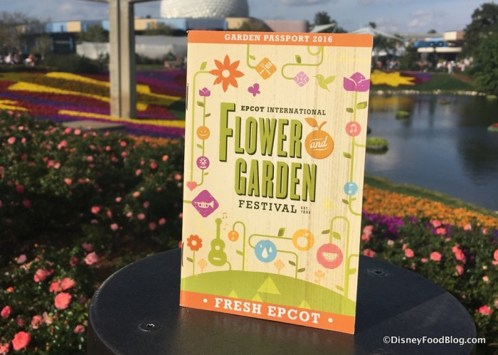 Flower and Garden Festival Passport