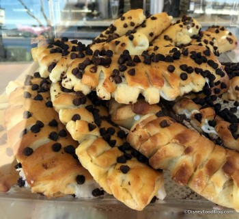 Chocolate Chip Bear Claws