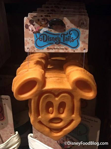 Mickey Waffle Dog Chew Toy