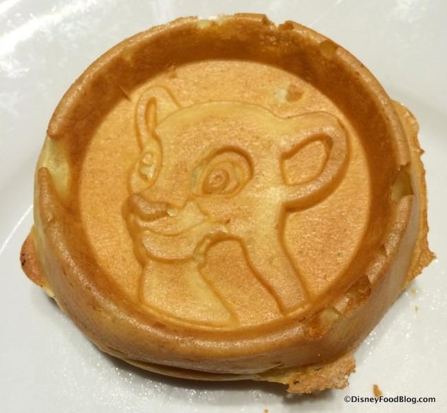 Lion King Simba Waffle