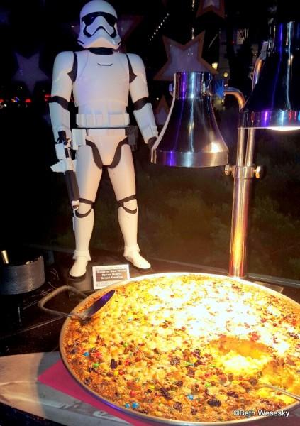 Galactic Warm Space Debris Bread Pudding