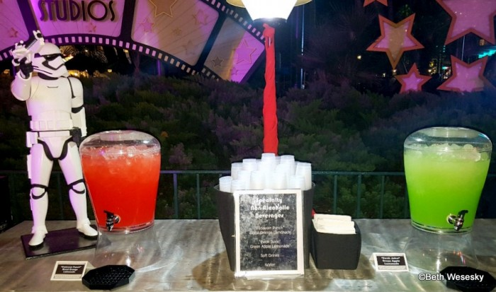 """Specialty Drinks, the """"Padawan Punch"""" and """"Ewok Juice"""""""