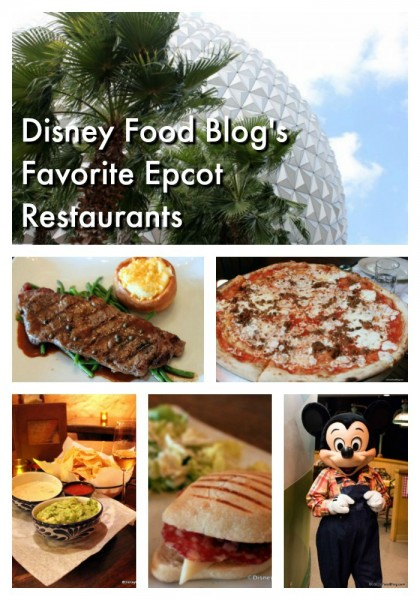 The Disney Food Blog''s Favorite Epcot Restaurants