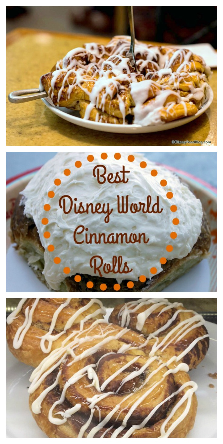 BEST Cinnamon Rolls in Walt Disney World