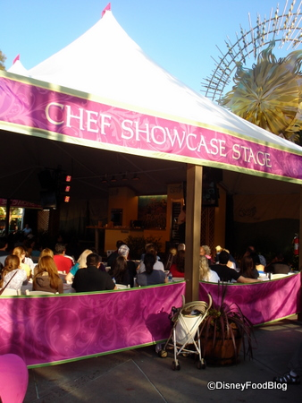 Chef's Showcase Stage in DCA