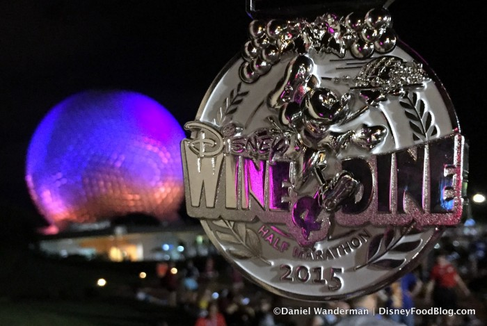 2015 Epcot Wine and Dine Medal