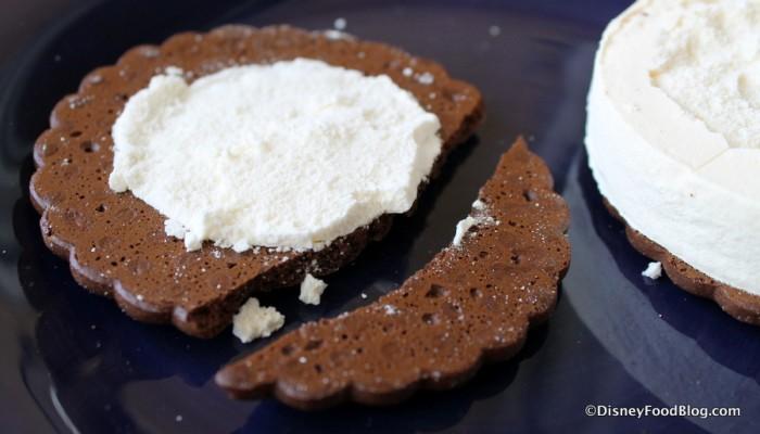Chocolate Cookie Sandwich piece