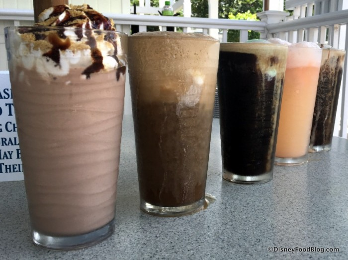 Adult Shakes and Floats at Beaches & Cream