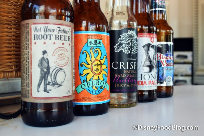 Bottled Beers Available at Block & Hans