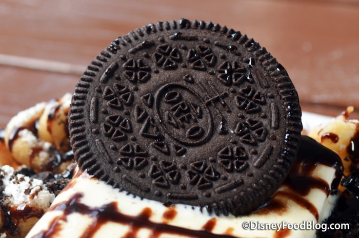 Oreo Cookie On Top!