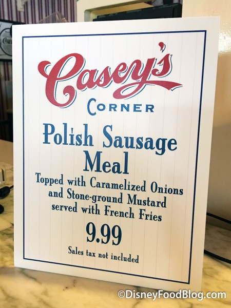 Polish Sausage Meal Still Available For Now