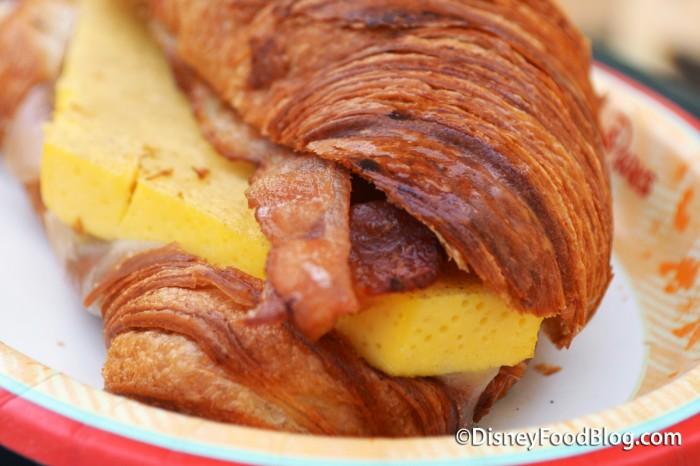 Toasted Croissant