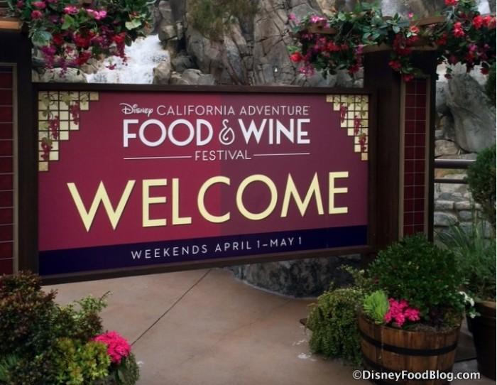 Disney California Adventure Food & Wine Festival