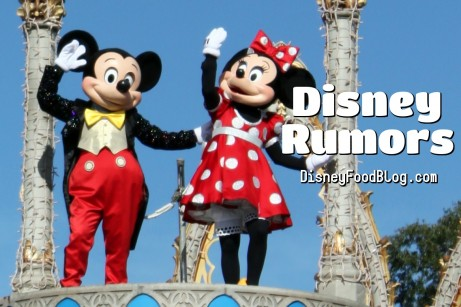 Disney Rumors from DFB