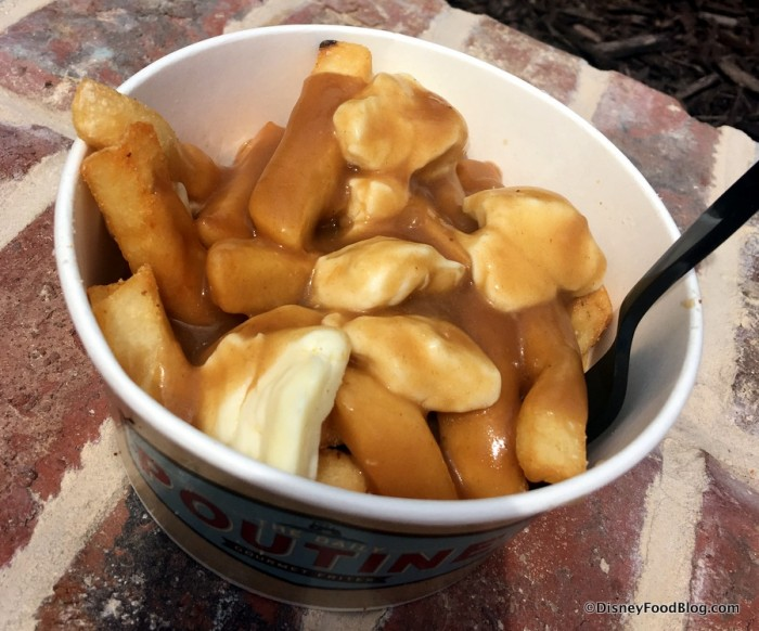 Disney Springs The Daily Poutine Classic 1
