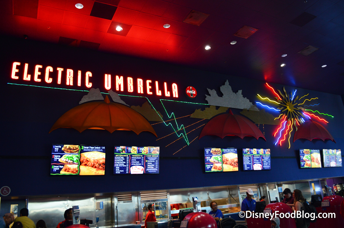Review: Lunch at Electric Umbrella in Epcot\'s Future World | the ...