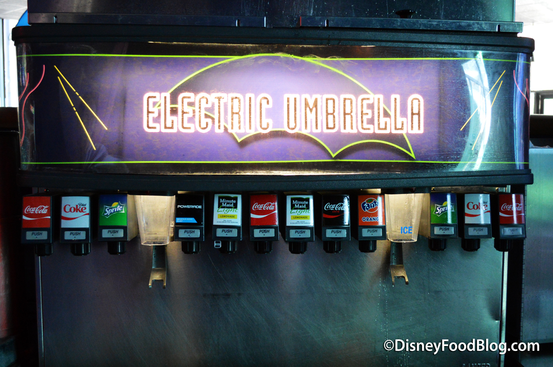 Review Lunch At Electric Umbrella In Epcot S Future World