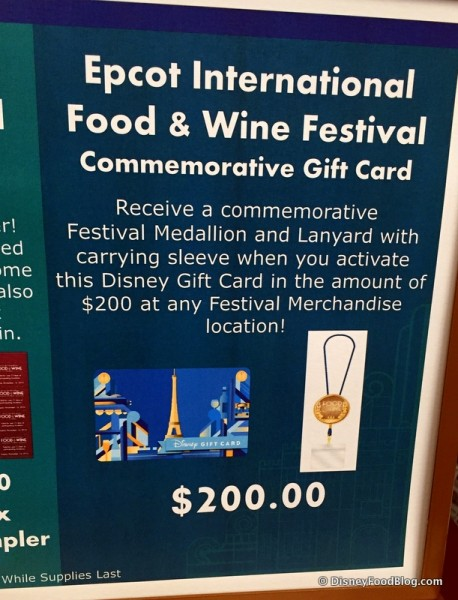 Can A Disney Gift Card Pay For Food