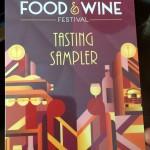News: Epcot Food and Wine Festival Tasting Sampler Details