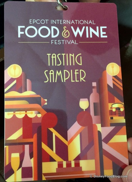Tasting Sampler Credential
