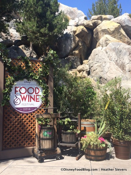 Food and Wine Festival Signage