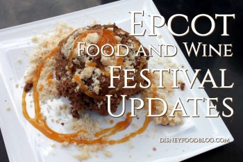 Food and Wine Festival Updates 2016 Info Graphic