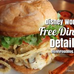 News! 2016 Disney World Free Dining Offer Now Available!