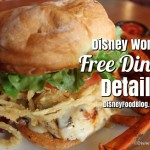 News: 2017 Disney World Free Dining Offer for UK Residents; And Disney Dining Plan Changes for 2017